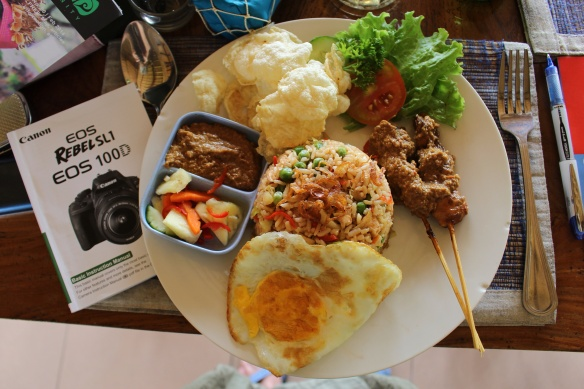 Nasi Campur/Chicken Satay