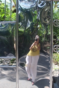 There are some amazing gates in Bali...I thought this one was most intriguing and least flattering