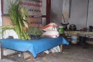 A traditional Balinese kitchen