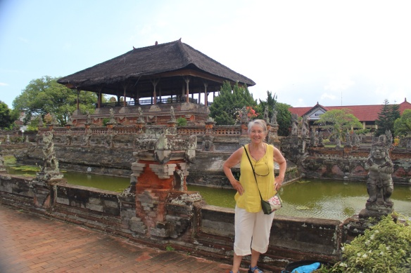 Remnants of royal Palace in Klungkung (Taman Gili)